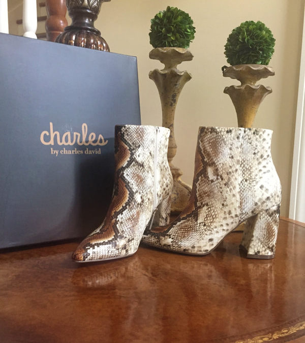 Snake Skin Boots from 6pm.com