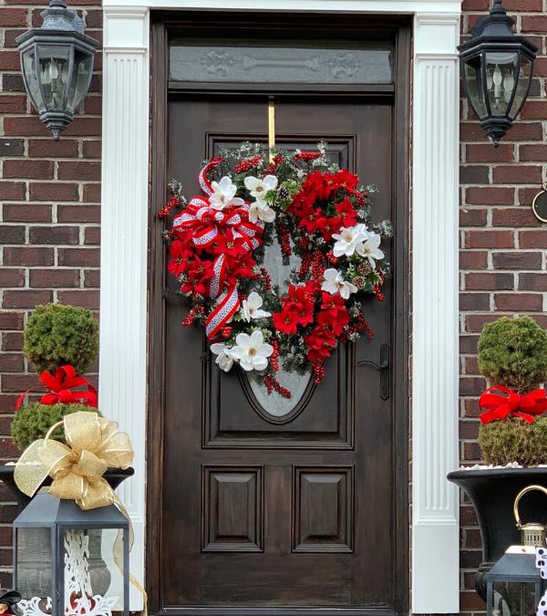 How To Create A Christmas Wreath