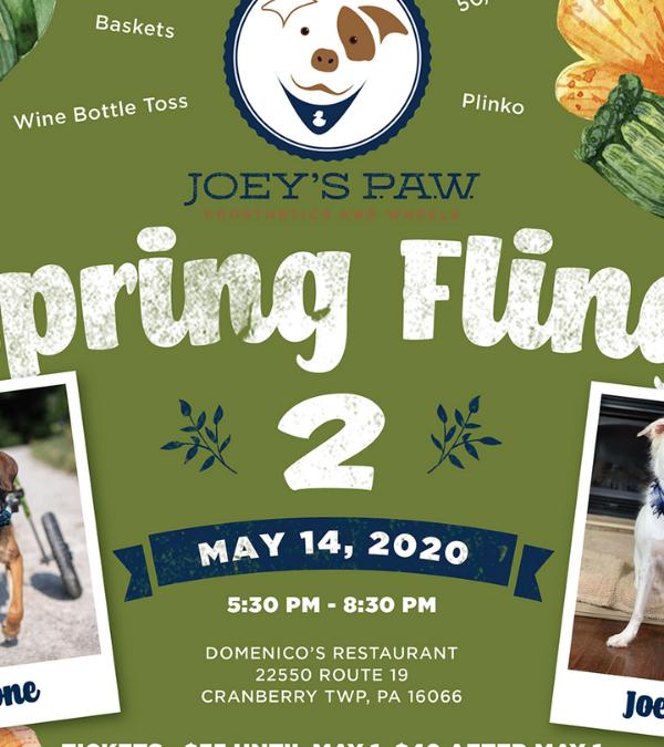 Joeys P.A.W. Spring Fling 2