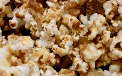 White Chocolate Toffee Popcorn