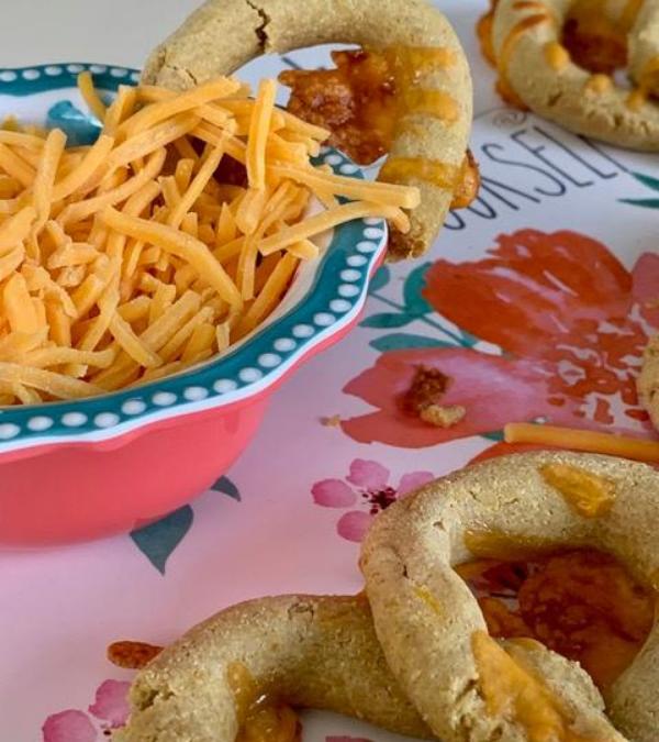Puppy Pretzels With Cheese