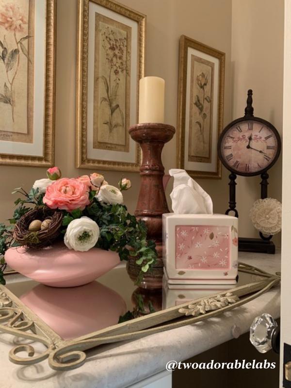 Home Decor items for a Jack and Jill bath