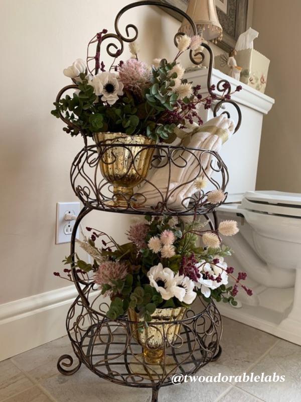 Florals from JoAnn Fabrics