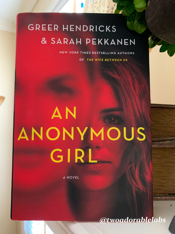 Book Review An Anonymous Girl