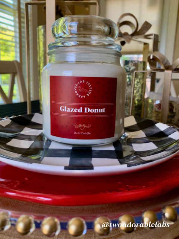 Glazed Donut Candle   www.twoadorablelabs.com
