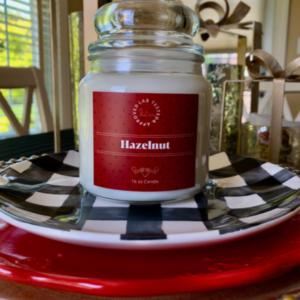 Hazelnut Candle | www.twoadorablelabs.com