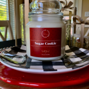 Sugar Cookie Candle   www.twoadorablelabs.com
