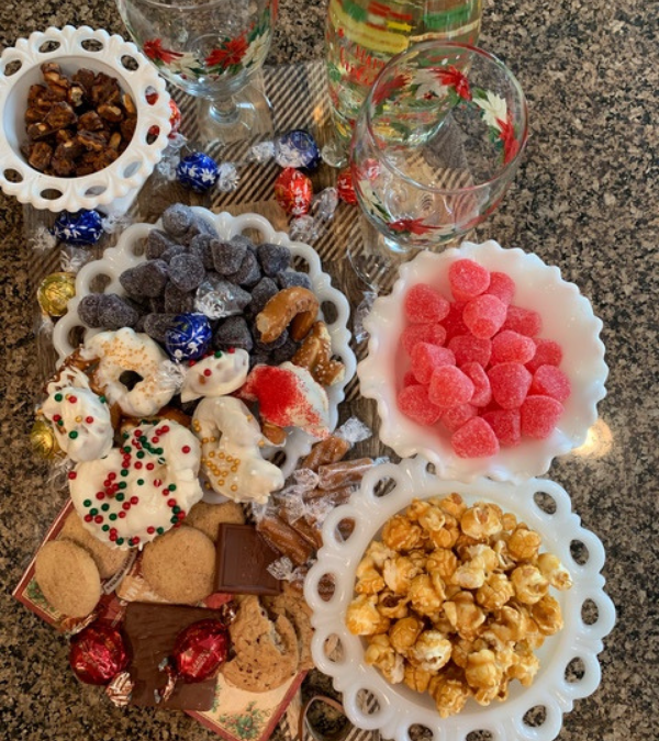 Candy And Wine Charcuterie Board