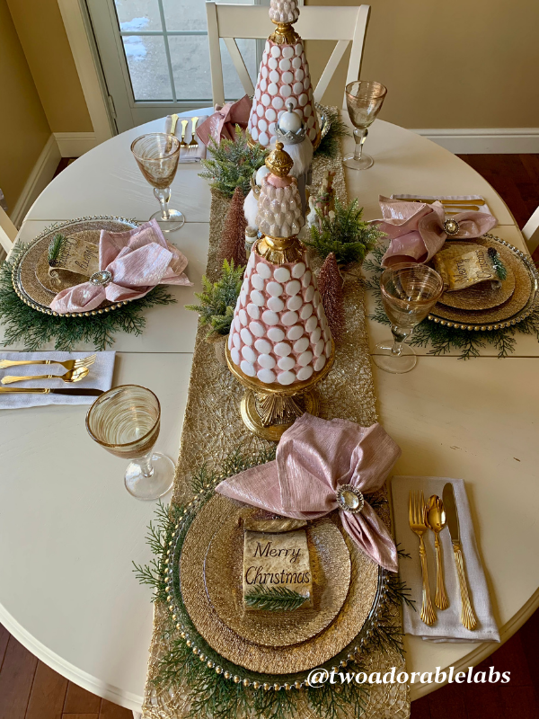New Years Eve Tablescape 2020