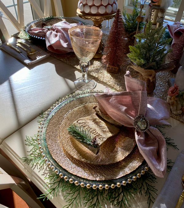 New Year's Eve Tablescape 2020