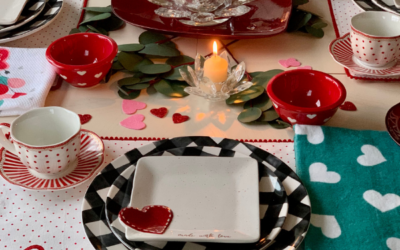 A Whimsical Valentine's Day Table