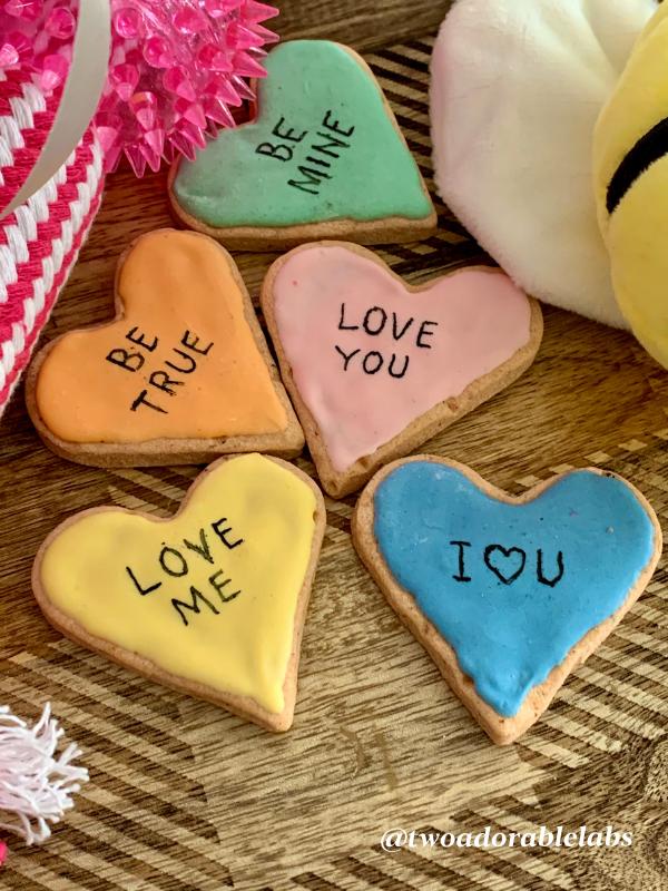 V-Day Treats | www.twoadorablelabs.com