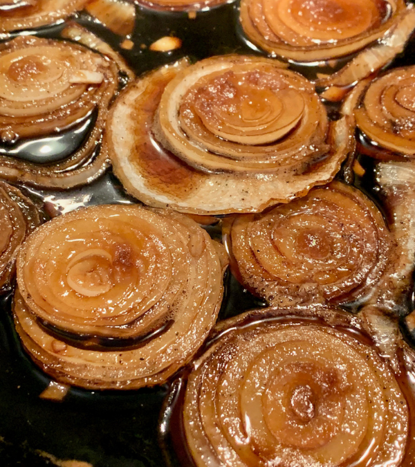 Brown Sugared Caramelized Onions