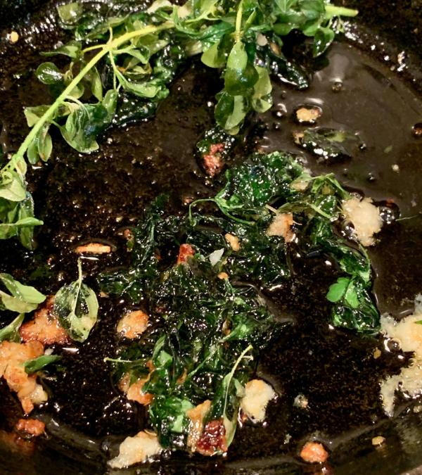 Fried Herbs