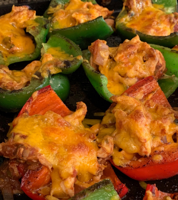 Mexican Chicken Stuffed Bell Peppers