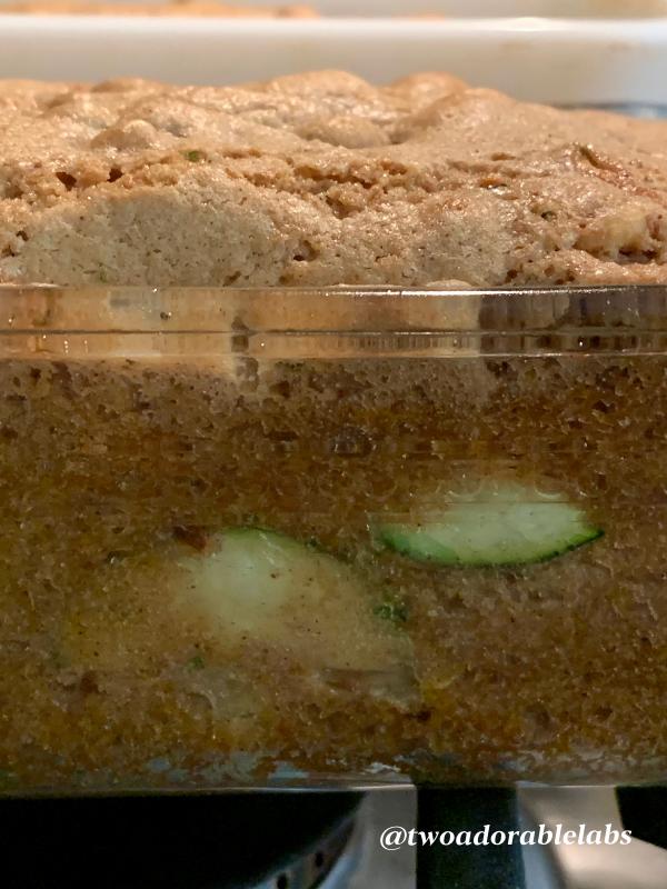 Zucchini Bread | www.twoadorablelabs.com