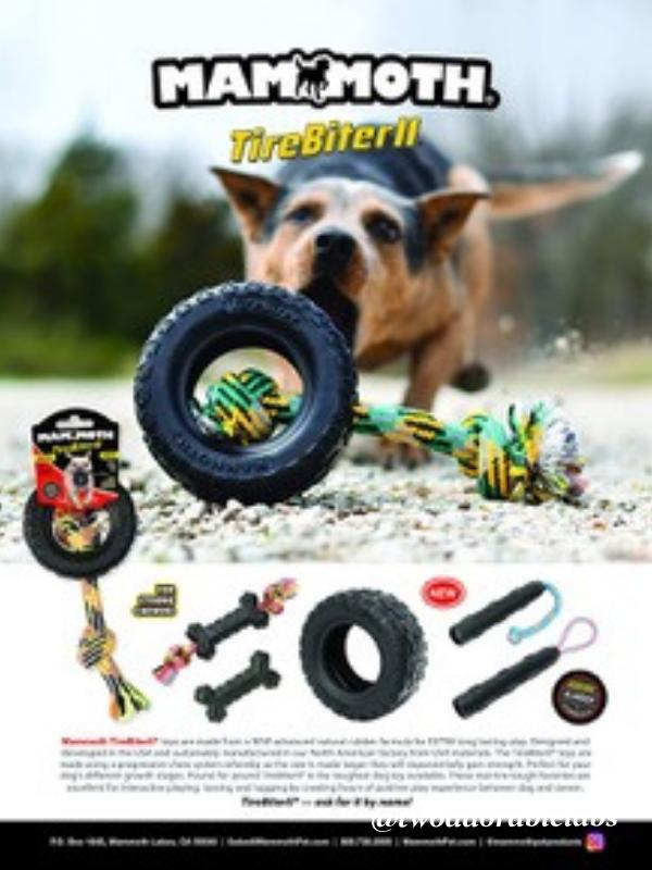 Mammoth TireBiter Dog Toy