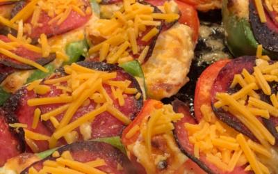 Pepper Salami Cheese Bites